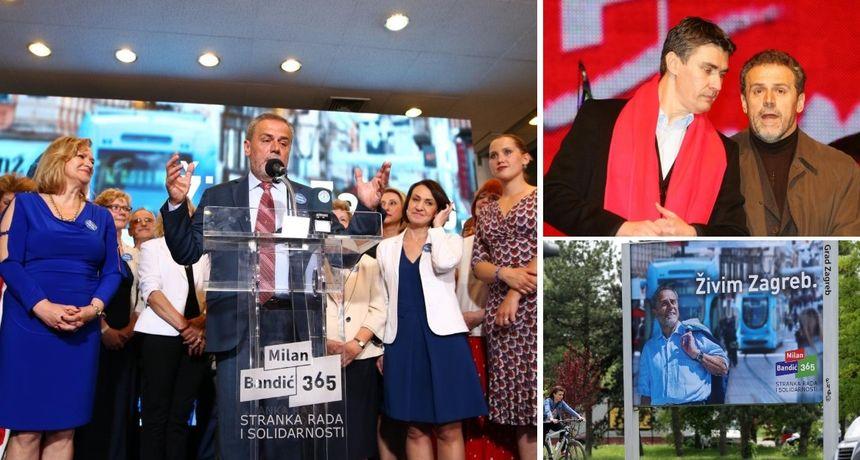 Svi izborni rezultati Milana Bandića: Kako je uspio osvojiti šest mandata na čelu Zagreba?