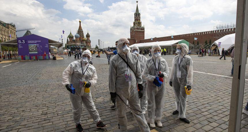 U Rusiji najveći broj novozaraženih još od veljače