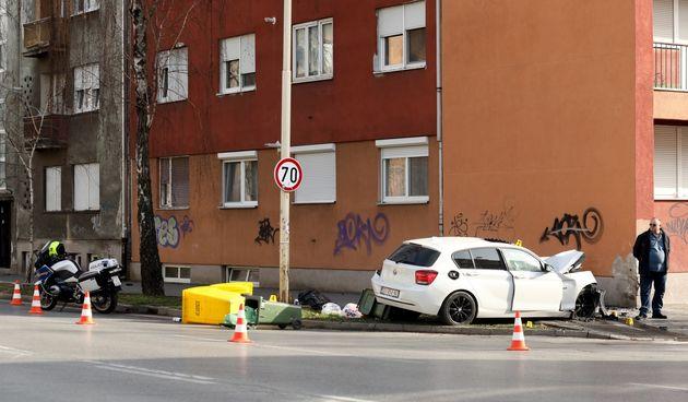 Prometna nesreća u Vukovarskoj ulici
