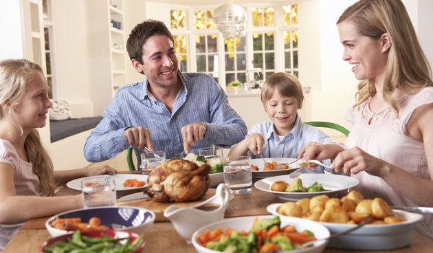 obitelj,ručak