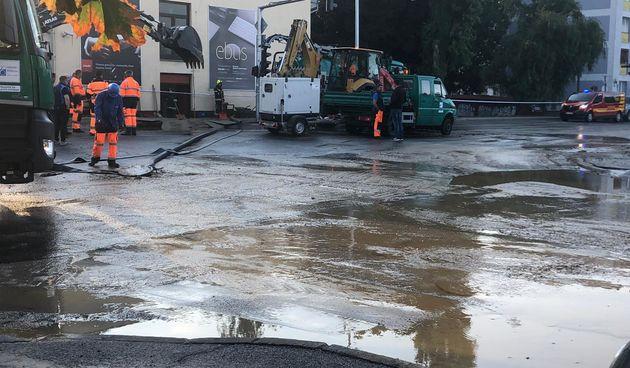 Jutros je na području Trešnjevke ponovno pukla vodovodna cijev