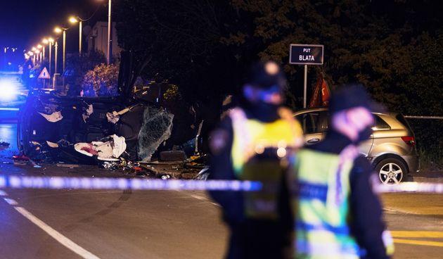 Dva mladića poginula u sudaru dvaju vozila u Kožinu