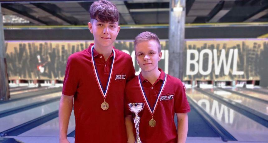Juniorski par Kreš i Ljubek prvaci Hrvatske u bowlingu