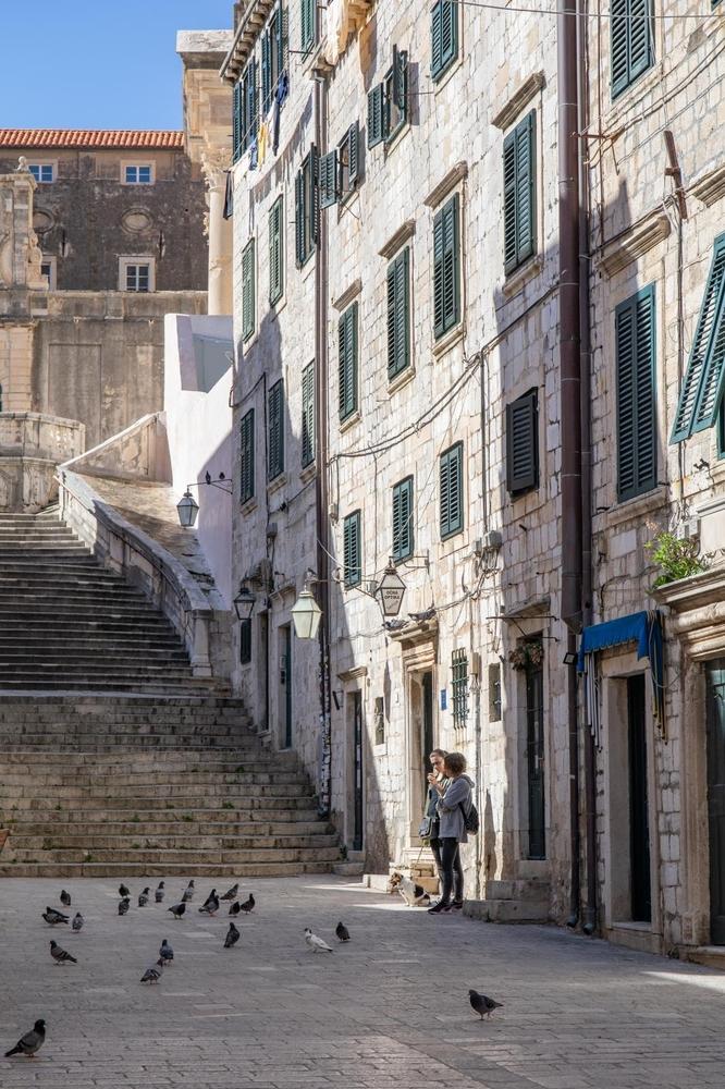 Prazne ulice Dubrovnika