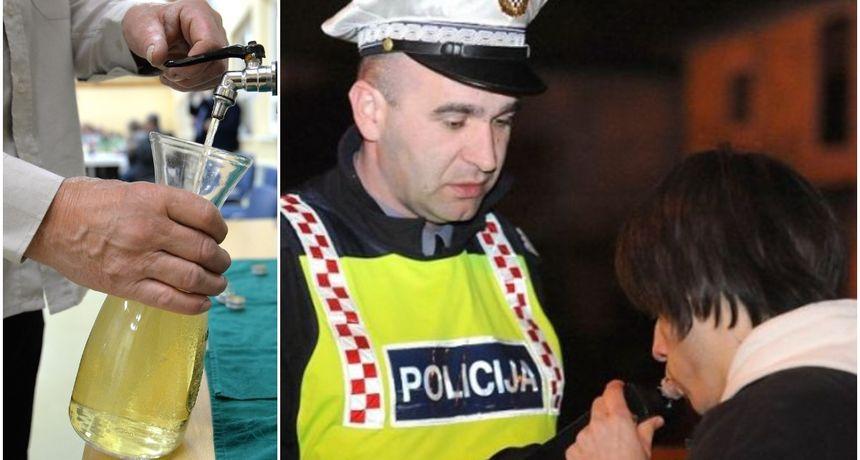 Uhvatili ga s 2.50 promila u Optujskoj, prijeti mu kazna od 20.000 kuna