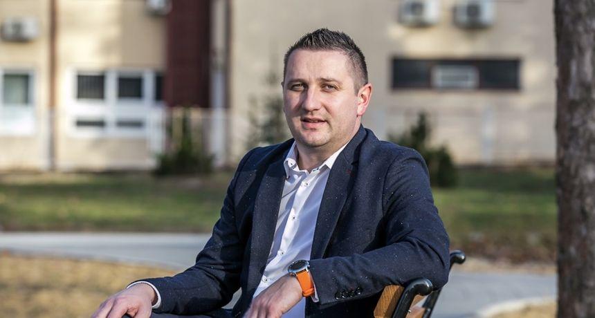 Nikola Sedlar kandidat je HNS-a za gradonačelnika Ivanca