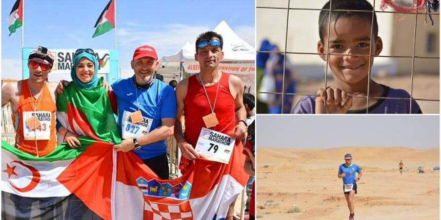 Varaždinci sudjelovali na Saharskom maratonu i pomogli tamošnjim izbjeglicama