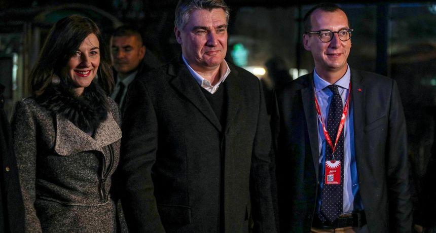 Milanović u Rijeci: 'Nisam vidio zastavu Jugoslavije. Meni to uopće nije sporno'