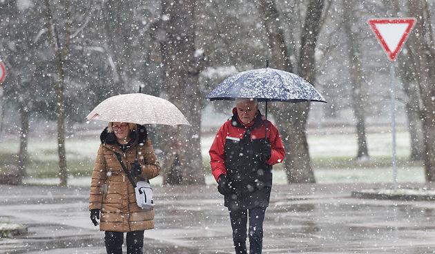 DHMZ izdao posebno priopćenje: posvuda minusi, snijeg, led, tuča, grmljavina