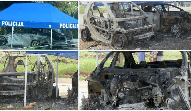 Buknulo u Novigradu: Zapalio se automobil pa vatra prešla na drugi