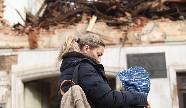 petrinja dan nakon potresa