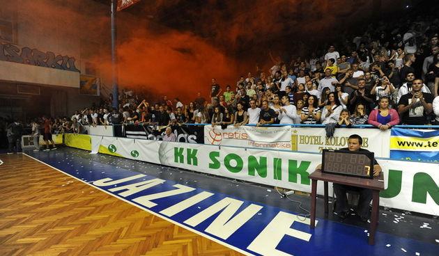 Zadar, 230912 Dvorana Jazine.  Humanitarna utakmica