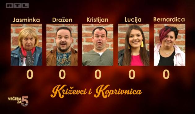 kandidati Križevci, Koprivnica