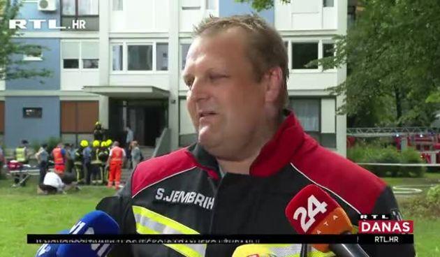 Ispovijesti stanara zgrade koju je zahvatio požar u Novom Zagrebu: 'Kažu da je od fena...' (thumbnail)