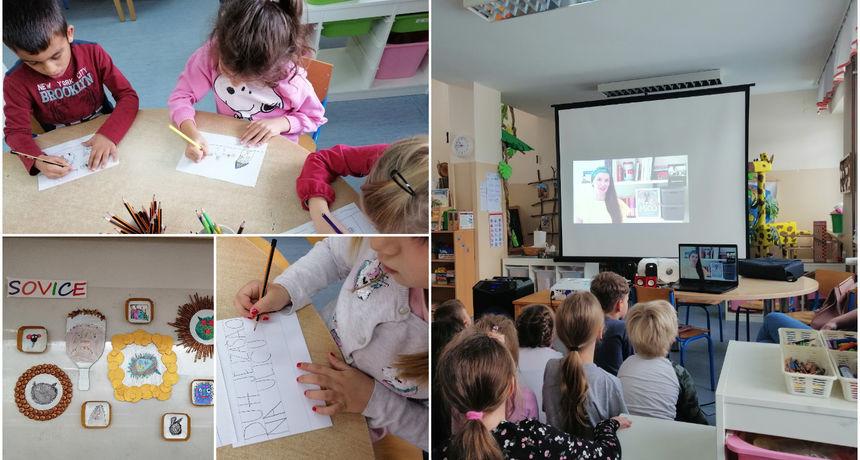 DJEČJI VRTIĆ CVRČAK 'Sovice' sudjelovale u međunarodnom projektu 'Naša mala knjižnica'