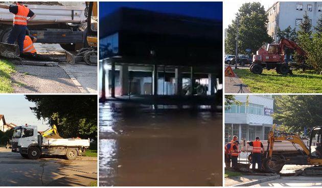 Čakovec Jug, poplava