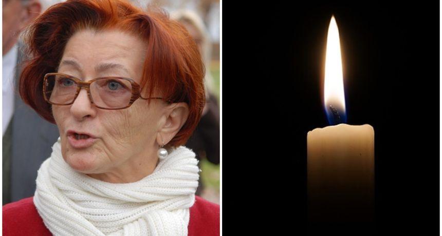 Preminula poznata karlovačka aktivistica Jelka Glumičić, osnivačica Odbora za ljudska prava - imala je koronu