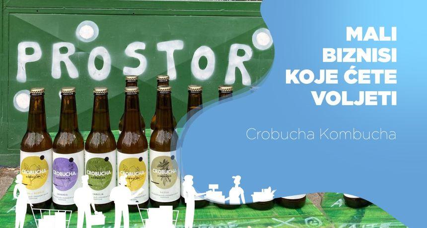 Ukrajinac, obrazovan u SAD-u, oženjen Hrvaticom, osmislio je Crobuchu Kombuchu - spoj azijskog pića i hrvatskog bilja