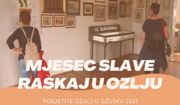 Grad Ozalj obilježava ožujak - mjesec Slave Raškaj, na programu niz aktivnosti u čast velike domaće slikarice