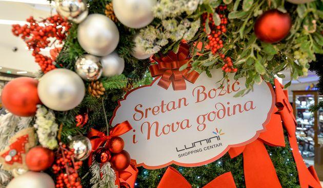 Stiglo je najljepše doba godine - Advent u Trgovačkom centru Lumini u punom je jeku