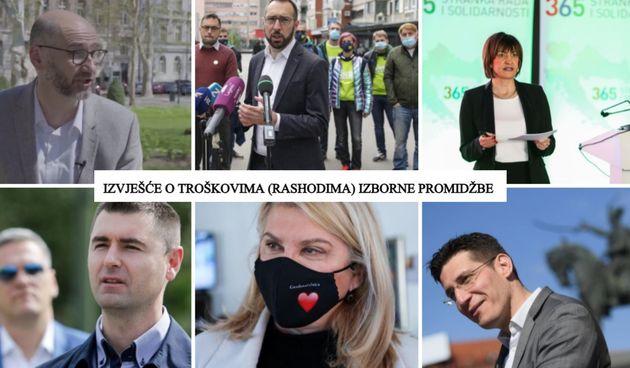 Koliko su na izbornu promidžbu potrošili kandidati za Zagreb. Tko je na promidžbu potrošio tek 12 kuna, a tko je skupio najviše donacija?