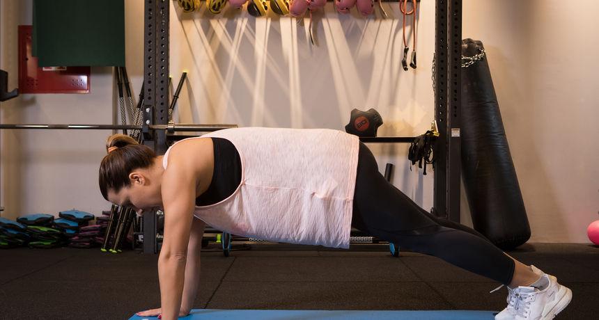 'Mama u formi': Vježbe s vlastitom težinom tijela