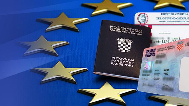 Putovnica, Osobna, Vozačka dozvola, EU