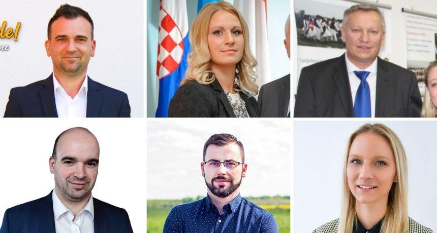 NOVI NAČELNICI U MEĐIMURJU Emanuel Sinković, Nikola Novak, Bojana Petrić,  Martin Srša, Dijana Novak, Mihael Grbavec