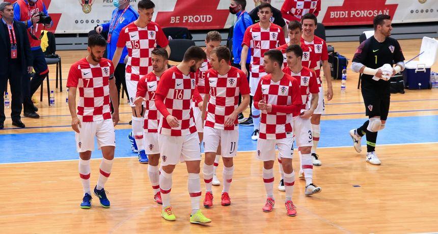 Hrvatska futsal reprezentacija u Osijeku svladala Ukrajinu