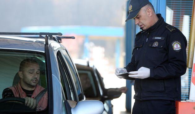 Policija, granica