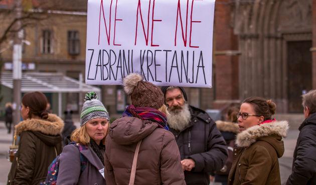 Prosvjed u Osijeku: ''I židovi su imali propusnice''