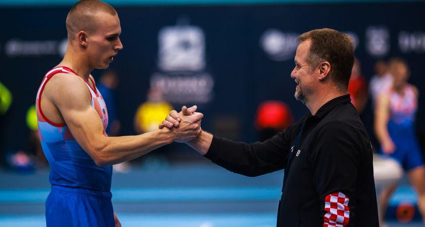 Benović uz rame europskom prvaku, u finalu i Ude i Korent