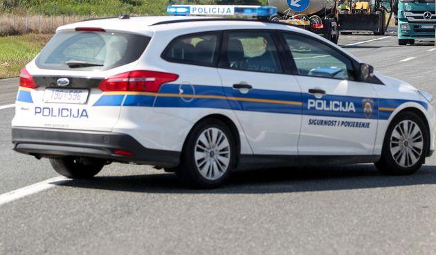 policija na A3, ilustracija