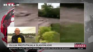 RTL-ova ekipa u Slavoniji nakon snažnog nevremena: ''Ružno, ružno je izgledalo baš... Velike su materijalne štete' (thumbnail)