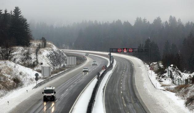 snijeg, autocesta A6, promet, zima