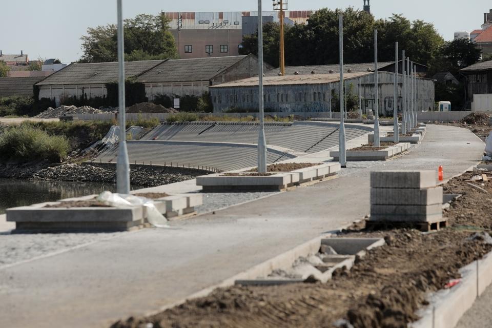Izgradnja nastavka osječke promenade