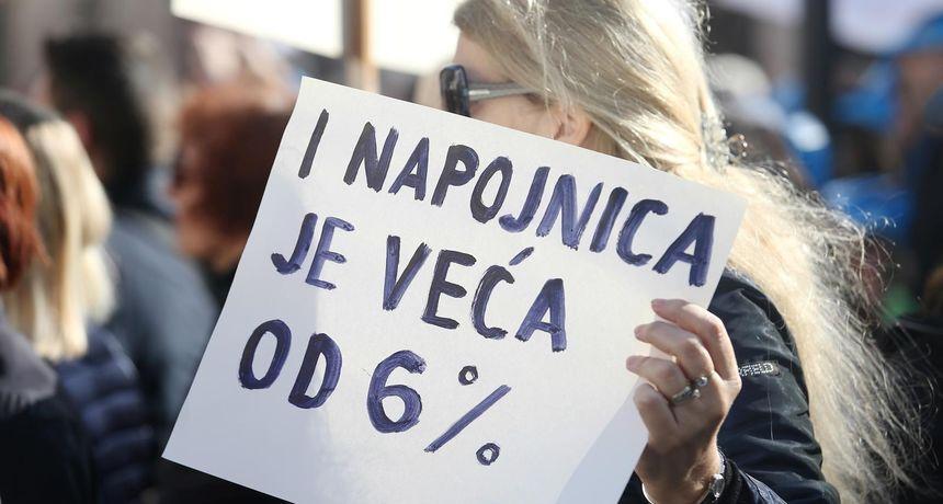 Nije gotovo? Nenastavno osoblje najavljuje štrajk: 'Izigrani smo! Što je s našim dostojanstvom'