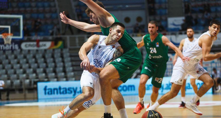 ABA liga, 3. kolo: KK Zadar - KK Krka 70-73