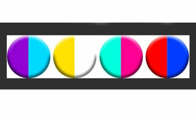 Koja vam se kombinacija boja najviše sviđa? To će otkriti nešto zanimljivo o vama