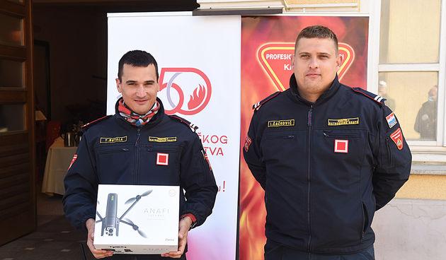 Donacija drona JVP Karlovac za nadolazeću protupožarnu sezonu 15. travnja 2021.