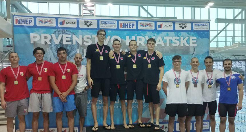 Osječkim plivačima dvije medalje na Prvenstvu Hrvatske