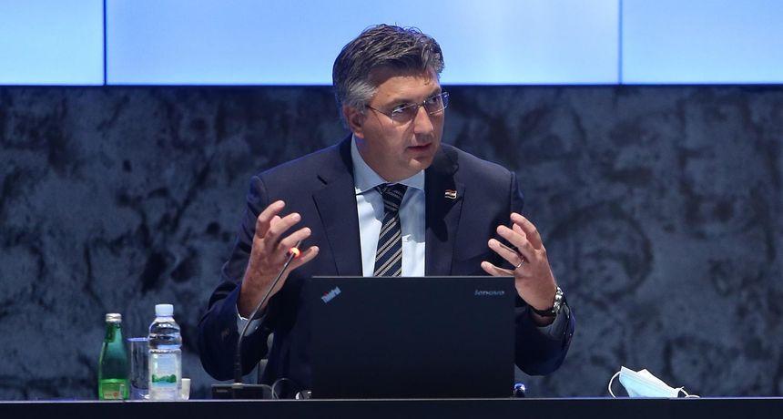 Plenković prozvao Škoru, Krišto, Penavu: 'Njihove huškačke poruke su možda potaknule mladića na napad na zgradu Vlade'
