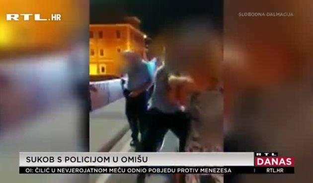 Omiš policajcu ispao pištolj (thumbnail)
