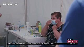 Kampanja cijepljenja protiv koronavirusa je intenzivna: U Bjelovaru su se građani cijepili u sklopu Terezijane (thumbnail)