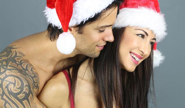 Božić, seks, par, ljubav