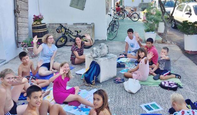 Dom na žalu: Radionice za djecu