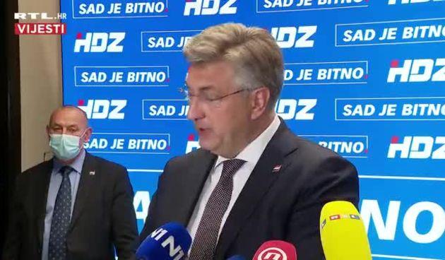 """Plenković se svađao na press konferenciji: """"Vi imate problema s razumijevanjem"""" (thumbnail)"""