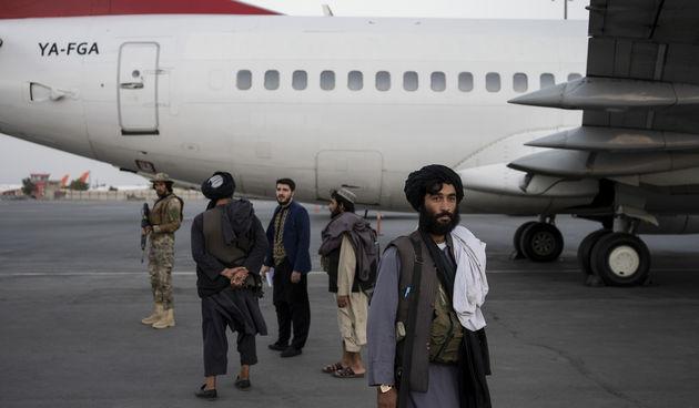 Talibani, aerodrom, Afganistan