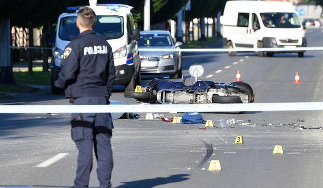 Teška nesreća u Čakovcu: Motociklist poginuo na mjestu nesreće nakon što mu je vozačica auta oduzela prednost