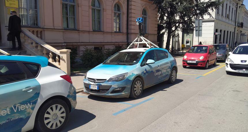 Google Street View provozao se Varaždinom: Uskoro svježi izgled prometnica